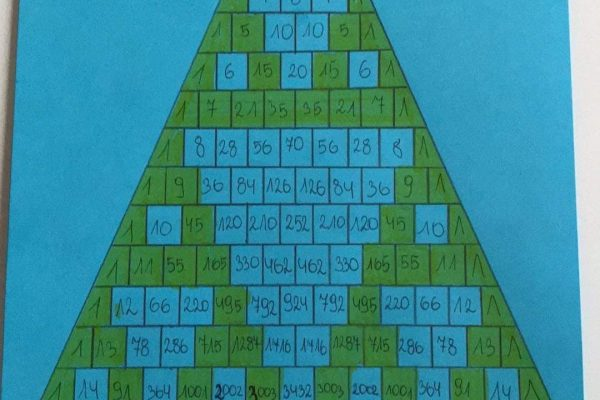 Matematyka trójkąt sierpińskiego